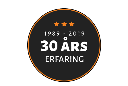 30 års erfaring